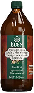 Eden Foods Organic Vinegars-Apple Cider Vinegar-Raw, 946 ml
